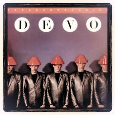 Devo Vintage Album Cover