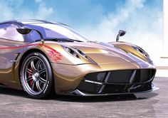 A limited edition Pagani Huayra Dinastia created exclusively for China