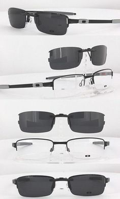 Other Vision Care: Custom Fit Polarized Clip-On Sunglasses For Oakley Tumbleweed-0.5 Ox3142 50X19 -> BUY IT NOW ONLY: $58.88 on eBay!