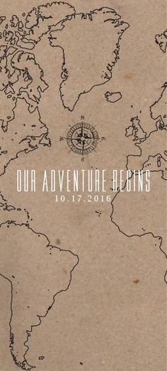 Wedding Venues Set out on your adventure for eternity. This wedding announcement has a map aesthetic with a brown cardstock texture. Map Wedding Invitation, Inexpensive Wedding Invitations, Lace Invitations, Invitation Kits, Country Wedding Invitations, Event Invitations, Invites, Wedding Stationery, Do It Yourself Wedding