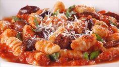 Giada De Laurentiis - Gnocchi with Tomatoes, Basil and Olives