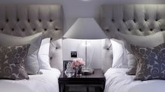 gorgeous grey luxury boutique hotel styling - katharine pooley interiors