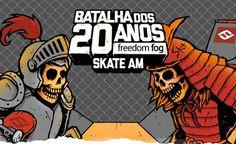 Eixo Skate Spot: Se inscreva na Batalha dos 20 Anos da Freedom Fog