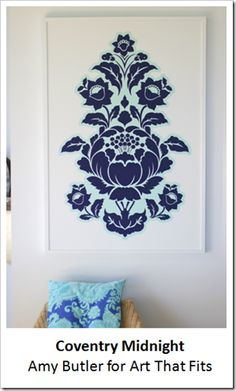 frame your favorite fabric