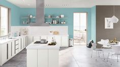 I created this Global Eclectic kitchen using Design By What Matters by Benjamin Moore. What's your design personality? Yup, this is it ^_^ Design Your Own Room, Your Design, Kitchen Renovation Inspiration, Kitchen Hoods, Eclectic Kitchen, Big Girl Rooms, Kid Rooms, Kitchen Paint, My New Room