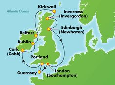 11-Day British Isles from London (Southampton)