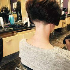 Shaved Nape, Shaved Heads, Sexy Bob Haircut, Kelly Cut, Undercut Bob, Clipper Cut, Edgy Haircuts, Inverted Bob, Short Cuts
