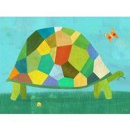Grazing Tortoise by Melanie Mikecz