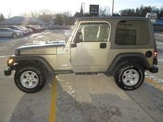 This 2005 Jeep Wrangler Sport is listed on Carsforsale.com for $17,200 in Decorah, IA. This vehicle includes Skid Plate(S),Front Air Conditioning,Front Air Conditioning - Automatic Climate Control,Front Air Conditioning Zones - Single,Center Console - Front Console With Storage,Steering Wheel - Tilt,Axle Ratio - 3.07,Gauge - Tachometer,Clock,In-Dash Cd - Single Disc,Radio - Am/Fm,Front Fog Lights,Wheel Diameter - 15 Inch,Wheels - Steel,Front Wipers - Intermittent,Rear Privacy Glass,Remov...