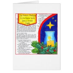 People Walking in Darkness Custom Christmas Card - christmas cards merry xmas diy cyo greetings