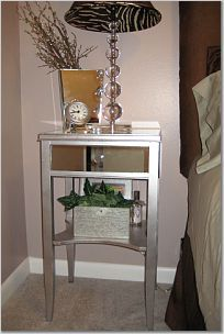How to cut mirror for diy mirrored furniture pinterest diy diy mirrored nightstand solutioingenieria Choice Image