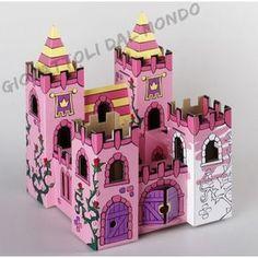 Palazzo Calafant giochi e giocattoli da costruire e colorare. Giocattoli creativi