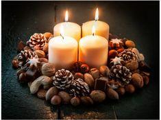 Budget Wedding, Pillar Candles, Tea Lights, Artsy, Entertaining, Flowers, Advent, Cinnamon Ornaments, Orange Slices