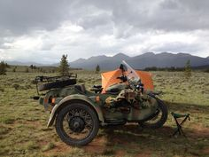 Camping off of the Ural Gear-up in Taylor Park, Colorado...looking forward to it again!