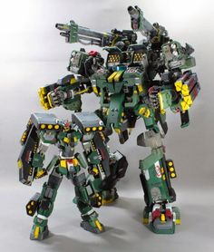 """Custom Build: 1/144 GNG-0001-Strike Buster + GN Striker """"Strike Buster Heavy Type"""" - Gundam Kits Collection News and Reviews"""