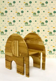 Elephant chair! I wonder if the ends can be curved to make it a rocking chair??
