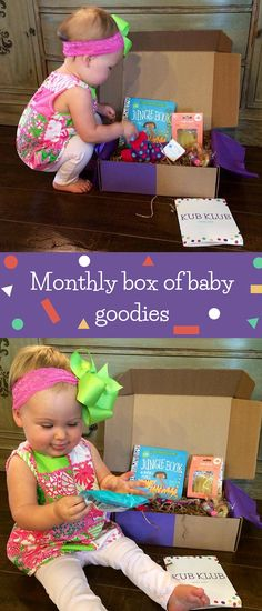 CONTEST! Kub Klub is a carefully curated box of baby toys, gear, and goodies! Win a FREE month of Kub Klub by entering our giveaway!