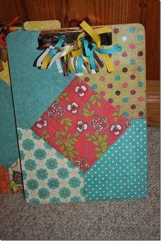 Cute clipboards - good gift idea.