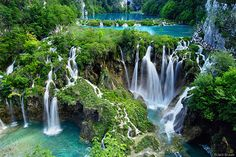 Croatian beauty: Plitvice Lakes Park have to go here some day