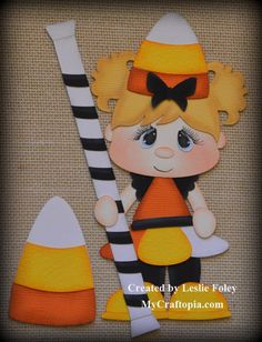 Girl Dress up Premade Halloween Scrapbooking by MyCraftopia