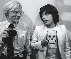 Warhol and Jagger