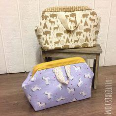 Bolsa tipo maletín con boquilla de médico Lunch Box, Sewing, Fabric Purses, Sewing Accessories, Mini Bag, Handbag Patterns, Clutch Bags, Bricolage, Dressmaking