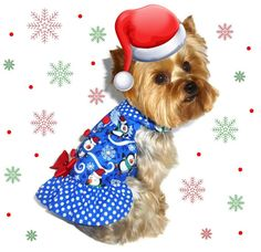 CHRISTMAS Dog Clothes SEWING PATTERN 1708 Little by SofiandFriends