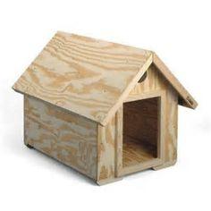 Image result for Easy Dog House Plans