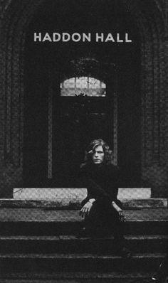 David Bowie, Haddon Hall early 70s.