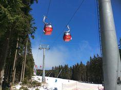Wurmbergseilbahn im Skigebiet Braunlage