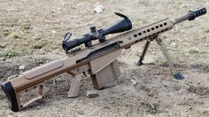 theillplanet:   weaponpornography:   Barrett M82... |  Weapons Lover