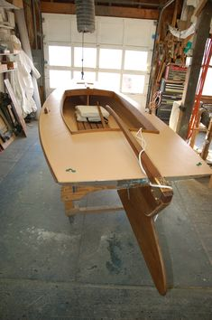 Melonseed Skiff at Crawford Boat Building in Humarock, MA