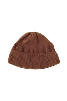 OLD JOE & Co - FINE GAUGE ATHLETIC CAP - BRICK BROWN