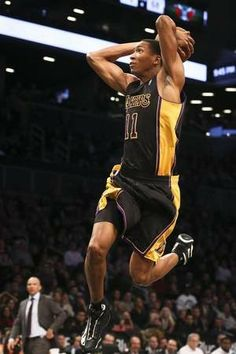 d4bb7ff284d Wesley Johnson dunking in Hollywood Nights