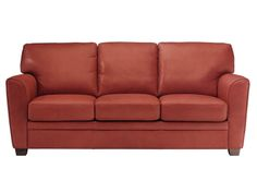 Time to replace my 20 year old Natuzzi sofa.  Love the color!