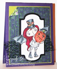 The Scrappy Chick: #Stampendous! New #Halloween Images