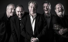 The Monty Python five: from left, John Cleese, Eric Idle, Terry Jones, Michael Palin and Terry Gilliam