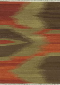 Santana Red / Brown Area Rug