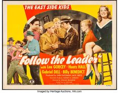 The safest and most flexible place to Buy and Sell original vintage movie posters. Sunday Movies, Movies For Boys, 1970s Movies, Vintage Movies, Leo Gorcey, The Bowery Boys, Tell No One, Follow The Leader, Magazine Articles