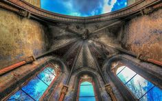 . Abandoned, Louvre, Tower, Building, Travel, Abandoned Places, Germany, Left Out, Rook