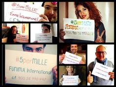#5secondipermillesorrisi selfie campaign