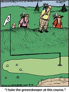 golf humor Close to Home Comic Strip on Humour Golf, Funny Golf Pictures, Thema Golf, Close To Home Comic, Golf Stance, Golf Cards, Funny Fathers Day Card, Woods Golf, Golf Quotes
