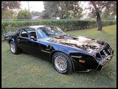 1979 Trans Am  Smokey and the Bandit...Need I say more?