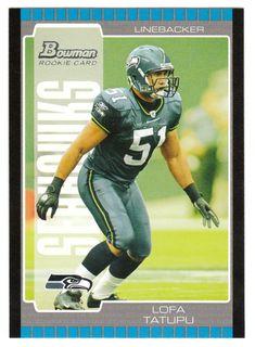 Lofa Tatupu RC # 230 - 2005 Bowman Football NFL Rookie