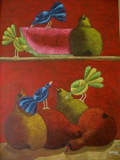 Pintor Ecuatoriano José Echeverría
