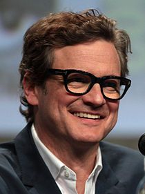 Colin Firth (1960 - ) by Gage Skidmore.jpg- an English actor. His films have grossed more than $3 billion from 42 releases worldwide.[1] He has received an Academy Award, a Golden Globe, two BAFTAs and three Screen Actors Guild Awards, as well as the Volpi Cup. His most notable and acclaimed role to date has been his 2010 portrayal of King George VI in The King's Speech, a performance that earned him an Oscar and multiple worldwide best actor awards.