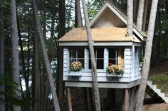 DIY Tree House Plans to Make Your Childhood (or Adulthood) Dream a Reality.
