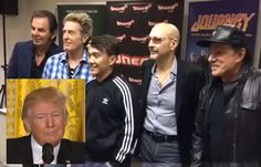 Visit to Trump's White House causes very public rift in Rock & Roll band Journey, possible split