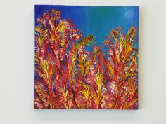 Acrylic Painting - Undersea Coral - www.harrisartstudio.com