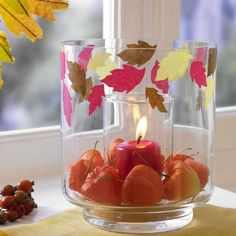 25 Beautiful Fall Decorations and Table Centerpieces Made with Natural Materials